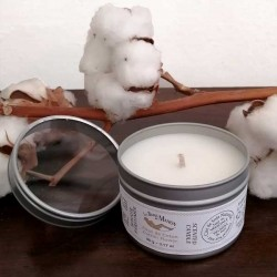 Candle 90 g - Cotton Flower